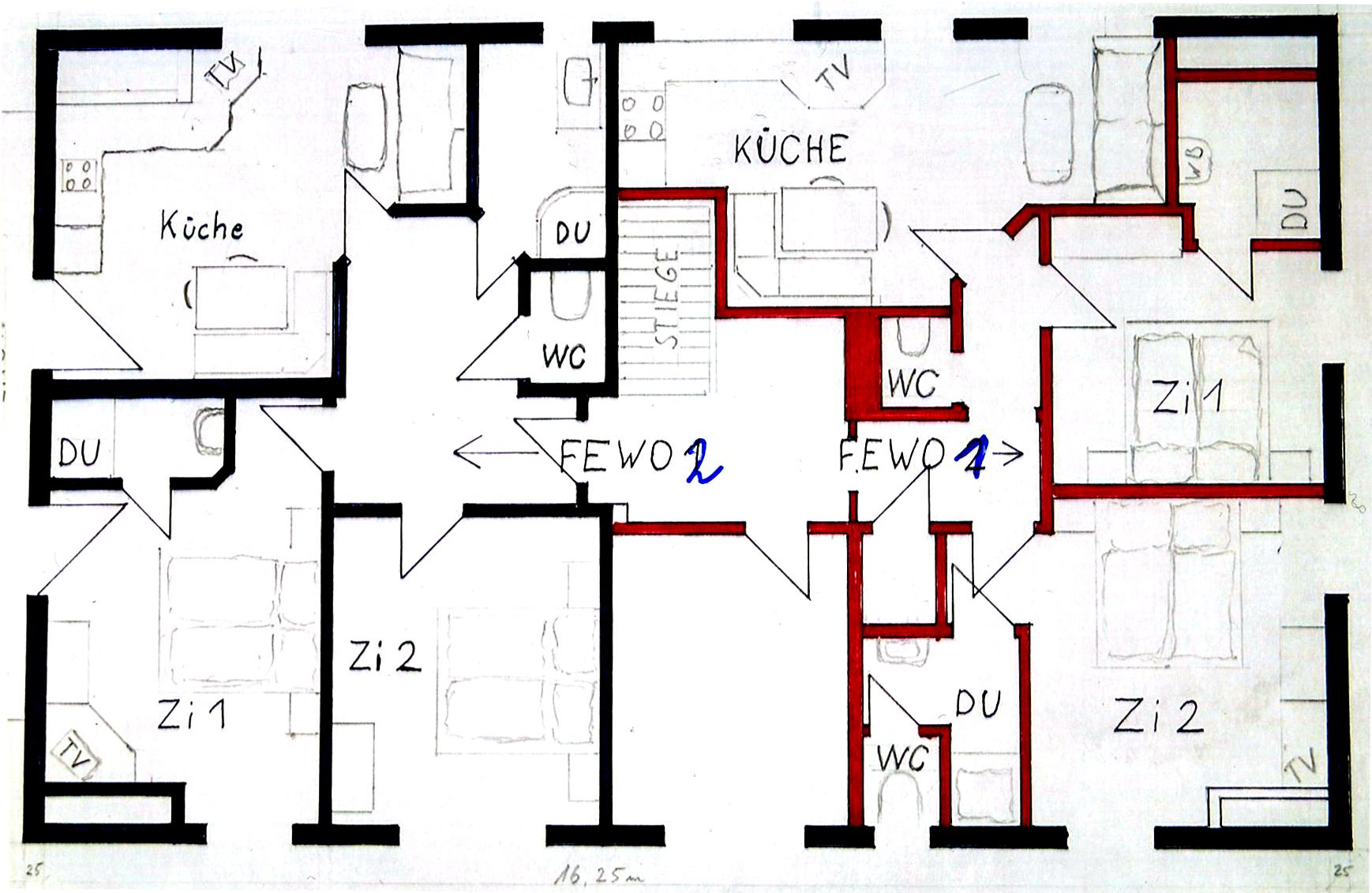 Appartements im kocherhof in mariapfarr im lungau for Haus plan bilder